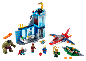 LEGO® set: 76152 - Avengers Wrath of Loki - main image