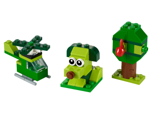 LEGO® set: 11007 - Creative Green Bricks - main image