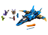 LEGO® set: 70668 - Jay's Storm Fighter