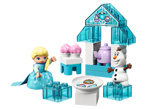 LEGO® set: 10920 - Elsa and Olaf's Tea Party - main image