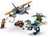 LEGO® set: 75942 - Velociraptor: Biplane Rescue Mission - alternate image