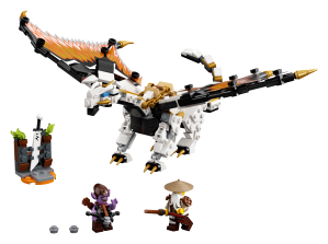 LEGO® set: 71718 - Wu's Battle Dragon - main image