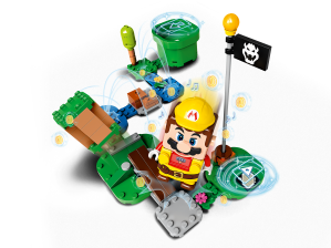LEGO® set: 71373 - Builder Mario Power-Up Pack - main image