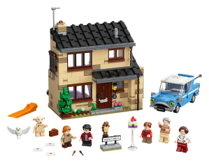 LEGO® set: 75968 - 4 Privet Drive - main image