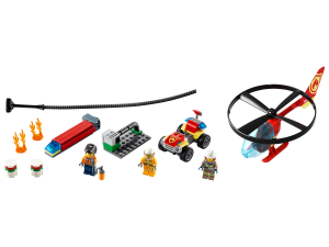 LEGO® set: 60248 - Fire Helicopter Response - main image