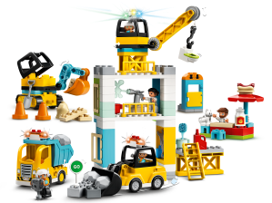 LEGO® set: 10933 - Tower Crane & Construction - main image
