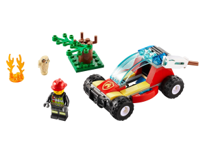 LEGO® set: 60247 - Forest Fire - main image