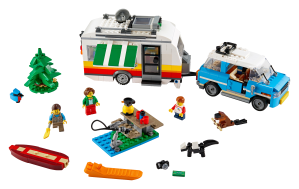 LEGO® set: 31108 - Caravan Family Holiday - main image