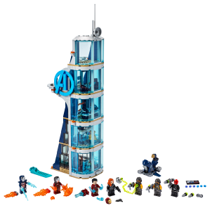 LEGO® set: 76166 - Avengers Tower Battle - main image