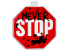 LEGO® set: 853963 - TLM2 Stop Sign Shield
