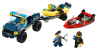 LEGO® set: 60272 - Elite Police Boat Transport