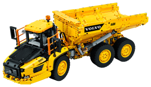 LEGO® set: 42114 - 6x6 Volvo Articulated Hauler - main image