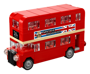 LEGO® set: 40220 - LEGO® London Bus - main image
