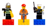 LEGO® set: 852513 - City Hero Magnet Set