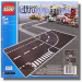 LEGO® set: 7281 - T-Junction & Curved Road Plates