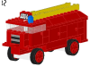 LEGO® set: 336 - Fire engine