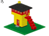 LEGO® set: 340 - Blockhouse
