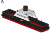 LEGO® set: 343 - train Ferry boat