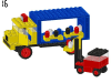 LEGO® set: 381 - Lorry and fork lift truck