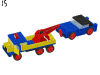 LEGO® set: 382 - Breakdown truck and car