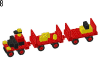 LEGO® set: 622 - Baggage Carts