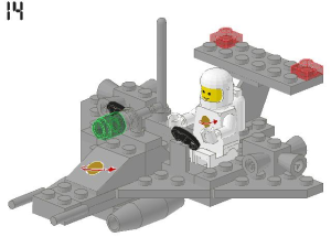 LEGO® set: 891 - Two-Man Scooter - main image