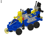LEGO® set: 1458 - Mobile Command Trailer