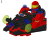LEGO® set: 1843 - Space ship