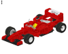 LEGO® set: 2556 - Promotional SHELL F1 Ferrari