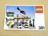 LEGO® set: 381 - Police Headquarters