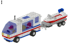 LEGO® set: 6351 - Surf and sail camper