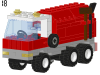 LEGO® set: 6668 - Recycle Truck
