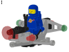 LEGO® set: 6805 - Astro Dasher