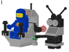 LEGO® set: 6809 - XT-5 And Droid