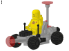 LEGO® set: 6826 - Crater Crawler