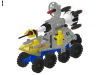 LEGO® set: 6950 - Mobile Rocket Transport