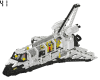 "LEGO® set: 8480 - Space Shuttle / ""FOS Light"" Space Shuttle"