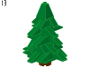 LEGO® set: 10069 - Tree