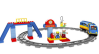 LEGO® set: 5608 - Train Starter Set
