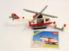 LEGO® set: 6691 - Red Cross Helicopter