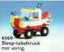 LEGO® set: 6660 - Hook & haul wrecker