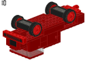 Fire engine - 374 - LEGO® building instruction step