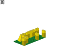wall 1 - 375 - LEGO® building instruction step