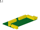wall 2 - 375 - LEGO® building instruction step