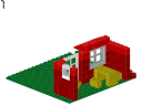 House with Garden - 376 - LEGO® building instruction step