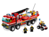LEGO® set: 7213 - Off-Road Fire Truck & Fireboat
