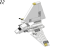 Space ship body - 4494 - LEGO® building instruction step