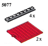 LEGO® set: 5077 - Sliding gates and rails