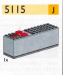 LEGO® set: 5115 - 9V battery box