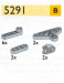 LEGO® set: 5291 - Liftarms and triangles